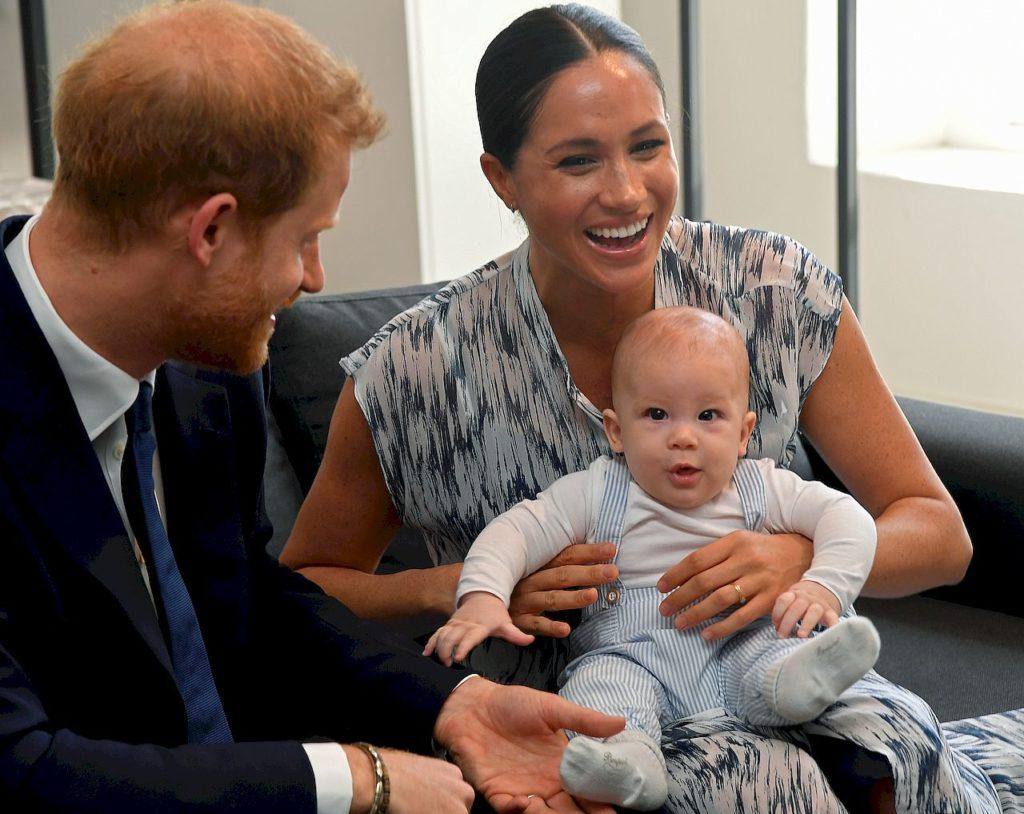 Archie, syn księcia harry'ego i księżnej Meghan