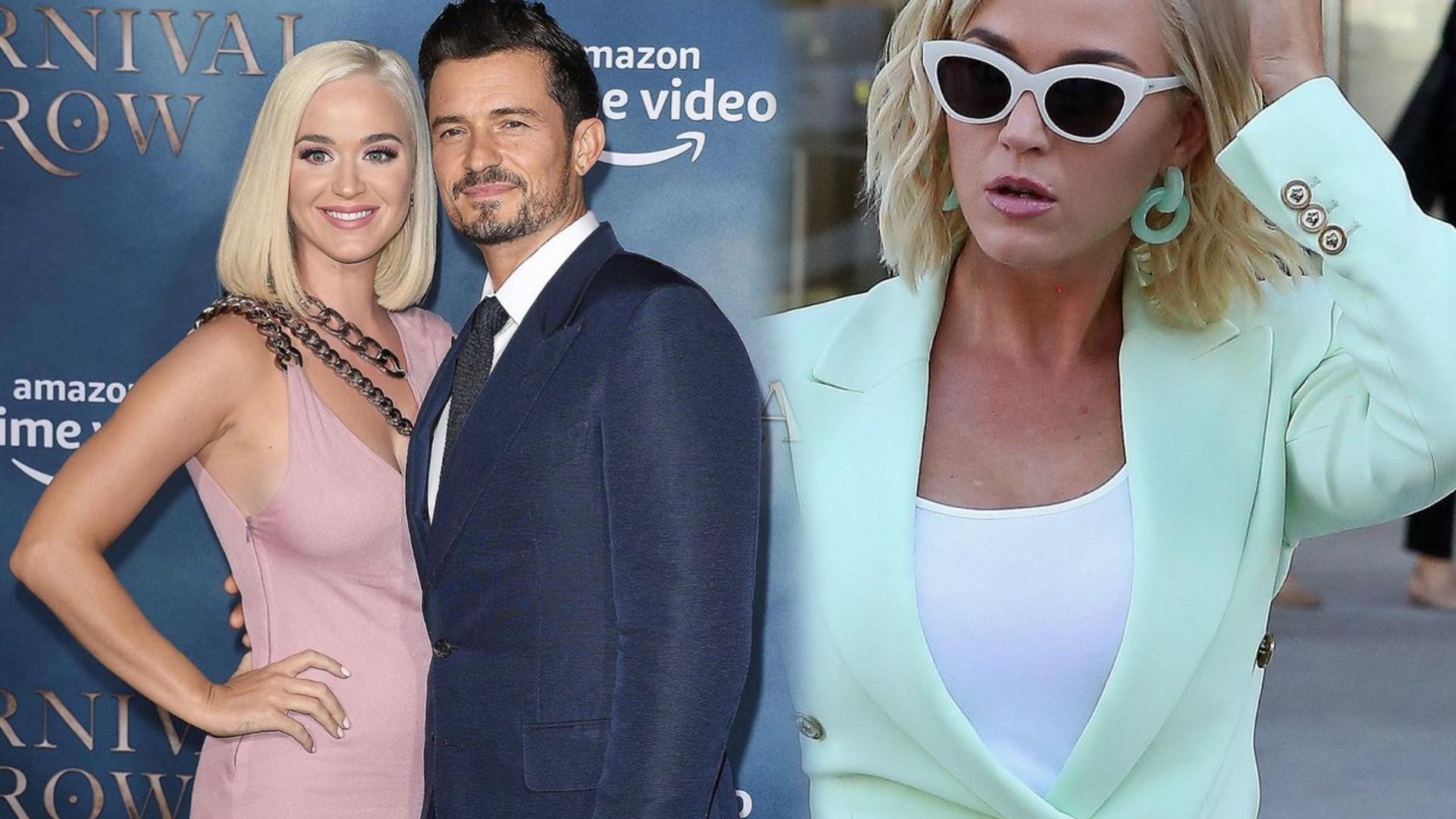 Katy Perry jako macocha zapycha się z synem Orlando Blooma Fast Foodami!