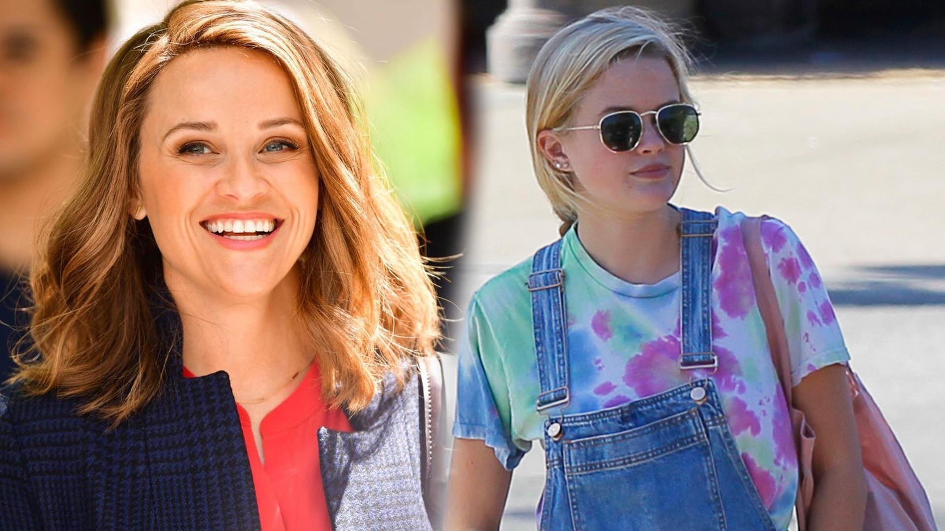 WOW! Reese Witherspoon na spacerze z rodziną. 19-letnia córka aktorki, Ava wygląda jak siostra bliźniaczka swojej mamy