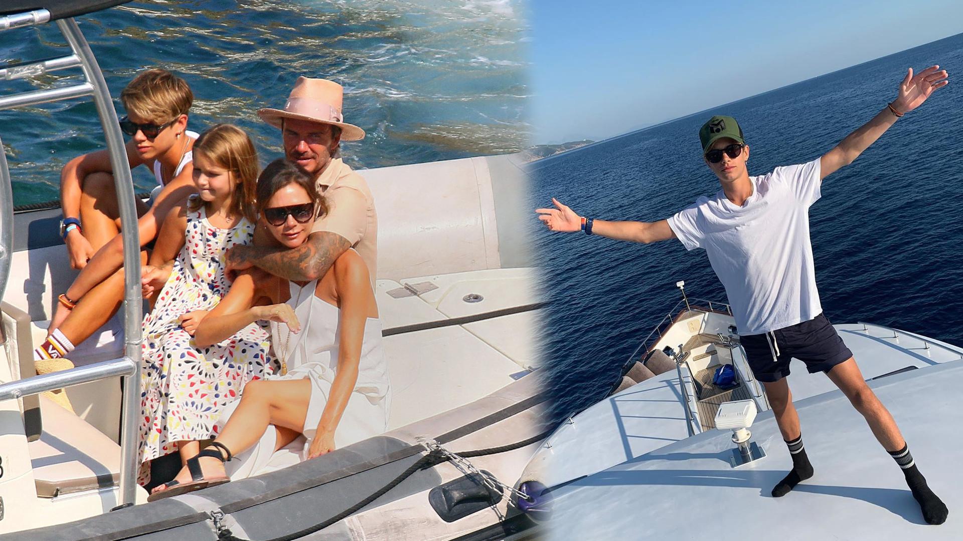 Rodzina Beckhamów świętuje urodziny 17-letniego Rome'a i składa wzruszające życzenia urodzinowe!