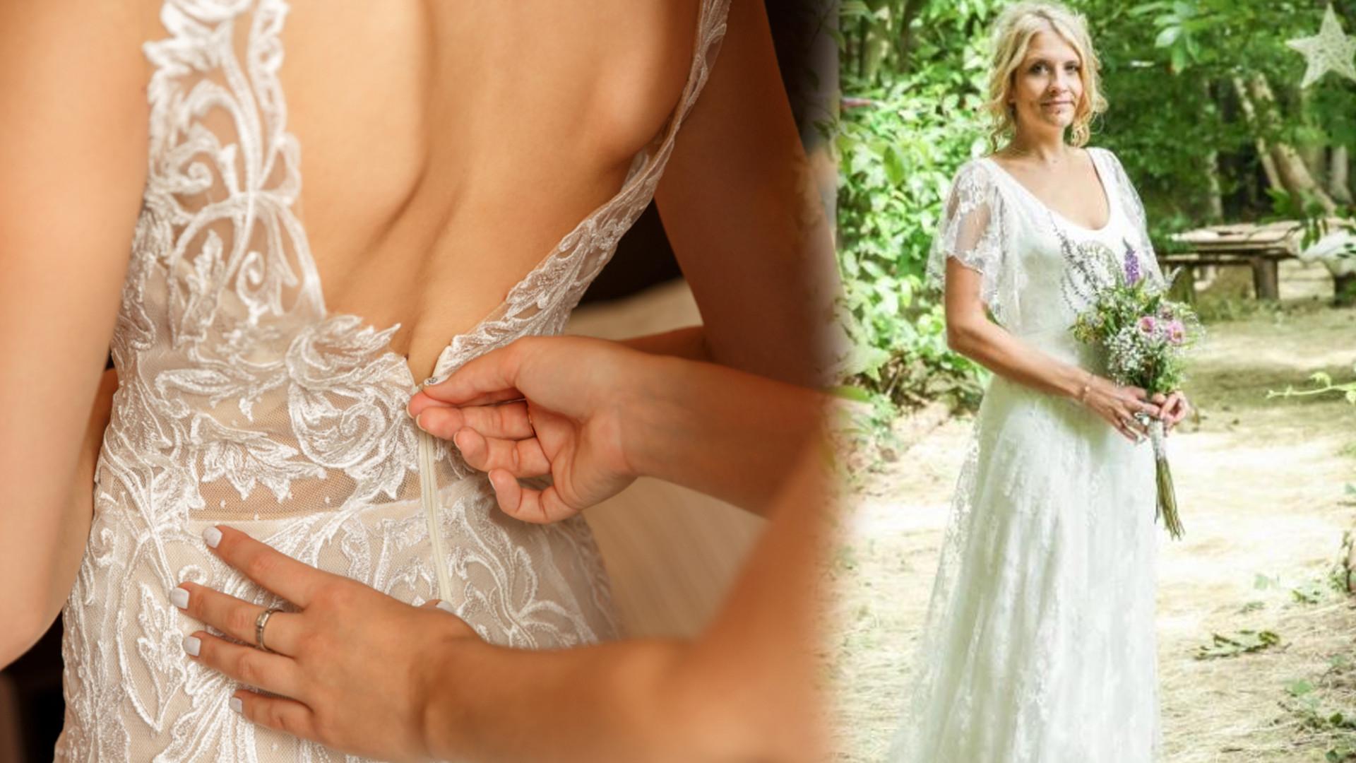 Nie uwierzysz co zrobiła ta panna młoda, gdy nie mogła rozstać się ze swoja suknią ślubną