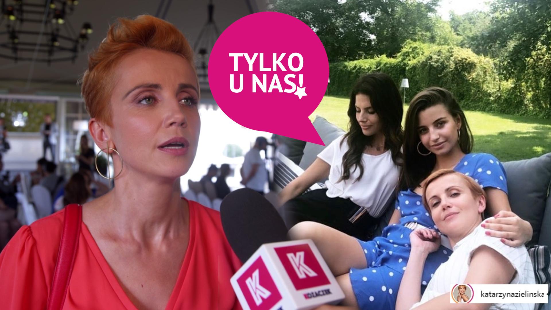Katarzyna Zielińska opowiedziała nam, jak się pracowało na planie z Weroniką Rosati i Julią Wieniawą