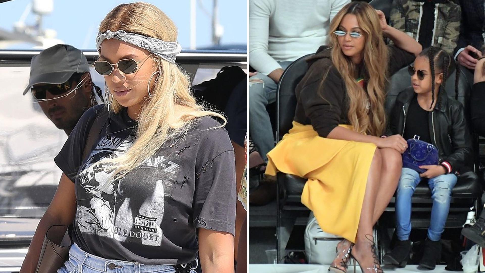 Beyonce już nie rozjaśnia włosów? Diva jest teraz bardzo ciemną brunetką