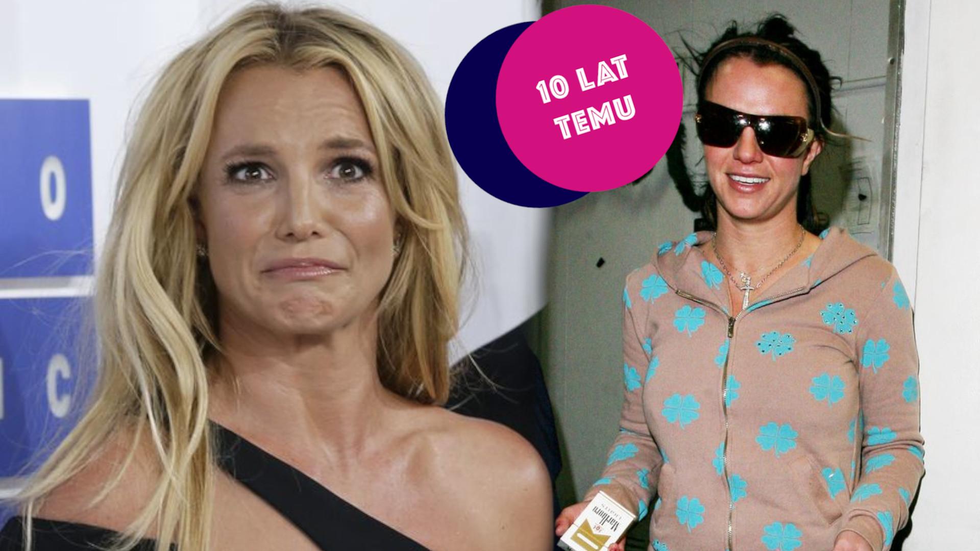 Bulimia i załamanie nerwowe Britney Spears (NASZ CYKL: 10 lat temu)