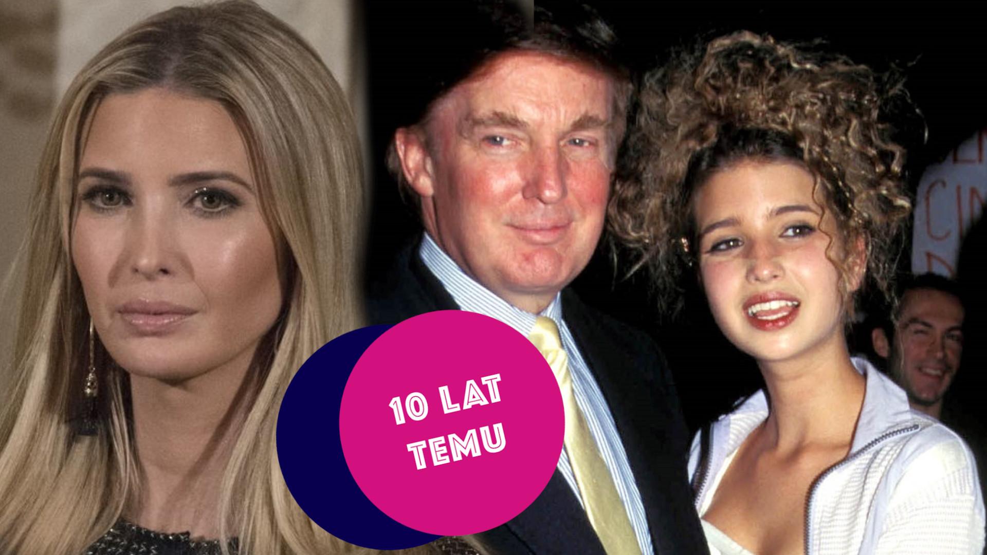 Ivanka Trump niegdyś kopią Paris Hilton. Dzisiaj poważnym politykiem [Co działo się w show-biznesie 10 lat temu]