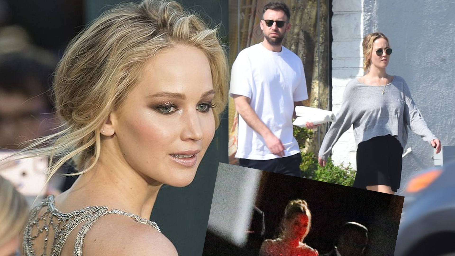 Pierwsze zdjęcia Jennifer Lawrence na własnym WESELU. Błyszczała z daleka