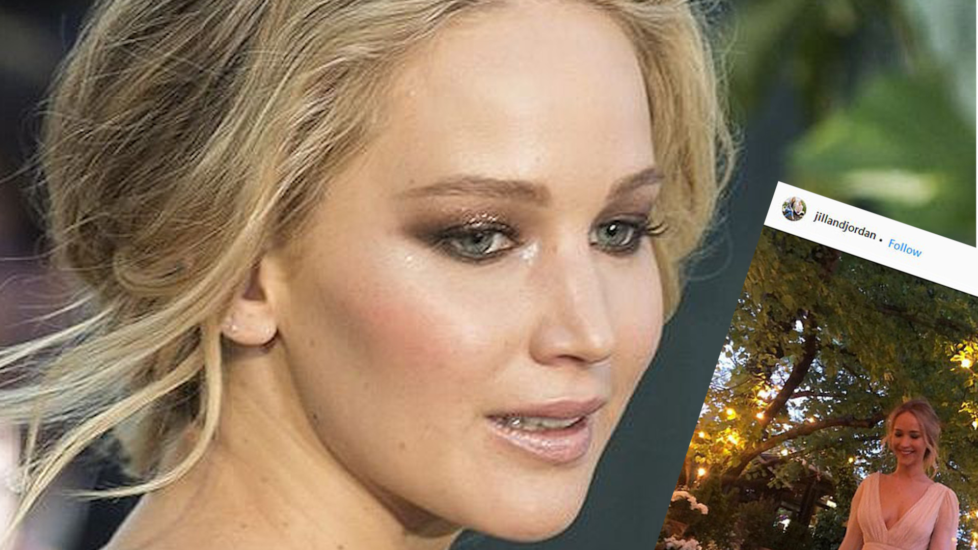 Stylistki Jennifer Lawrence pokazały jej zaręczynową sukienkę (ZDJĘCIE)