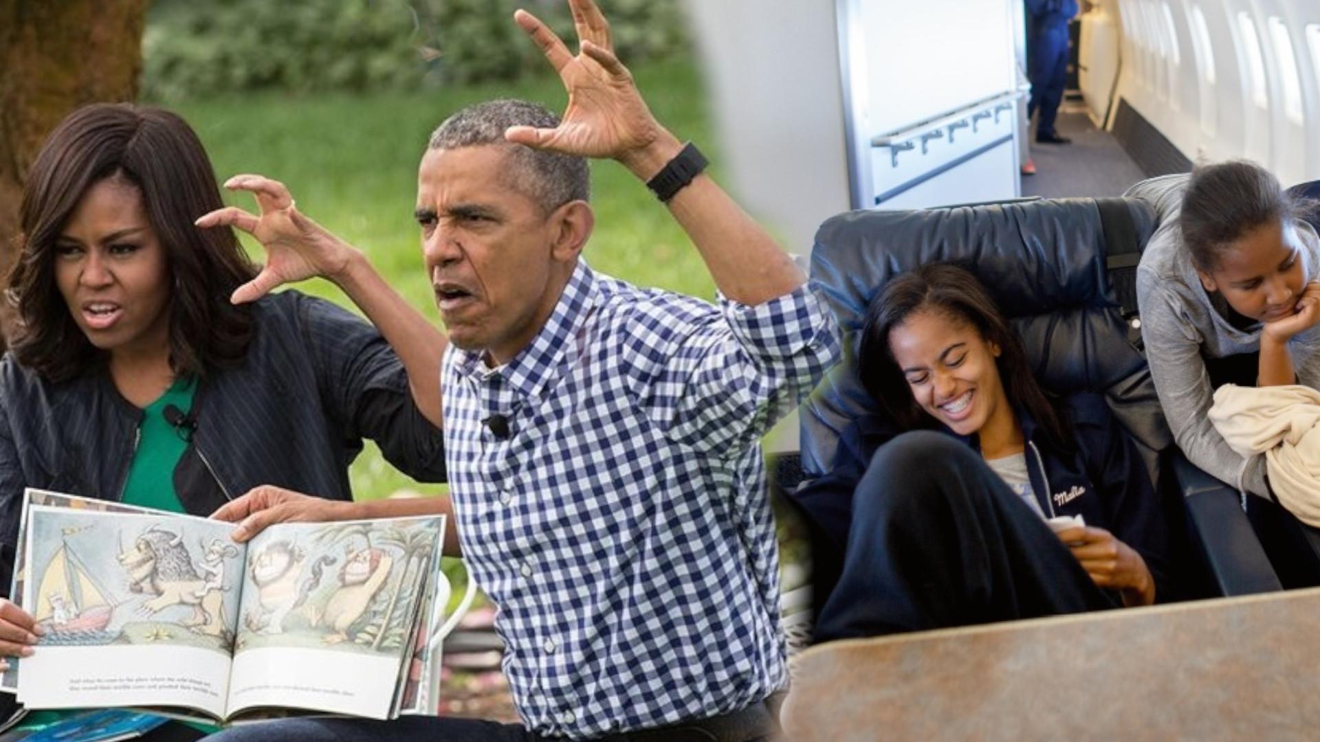 OMG! Fotograf Białego Domu wydał książkę z INTYMNYMI zdjęciami rodziny OBAMÓW