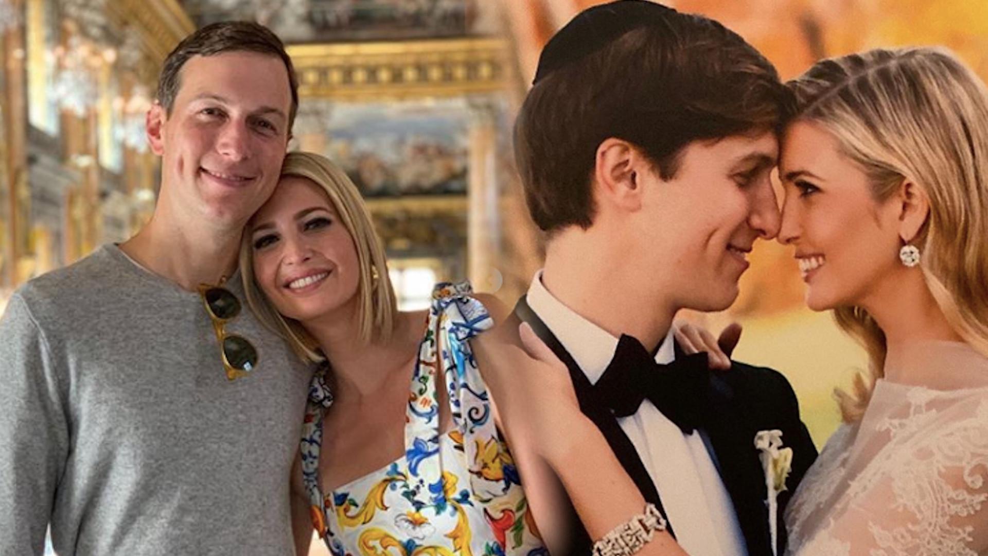 Ivanka Trump celebruje 10 rocznicę ŚLUBU. Pokazała suknię ślubną na Instagramie
