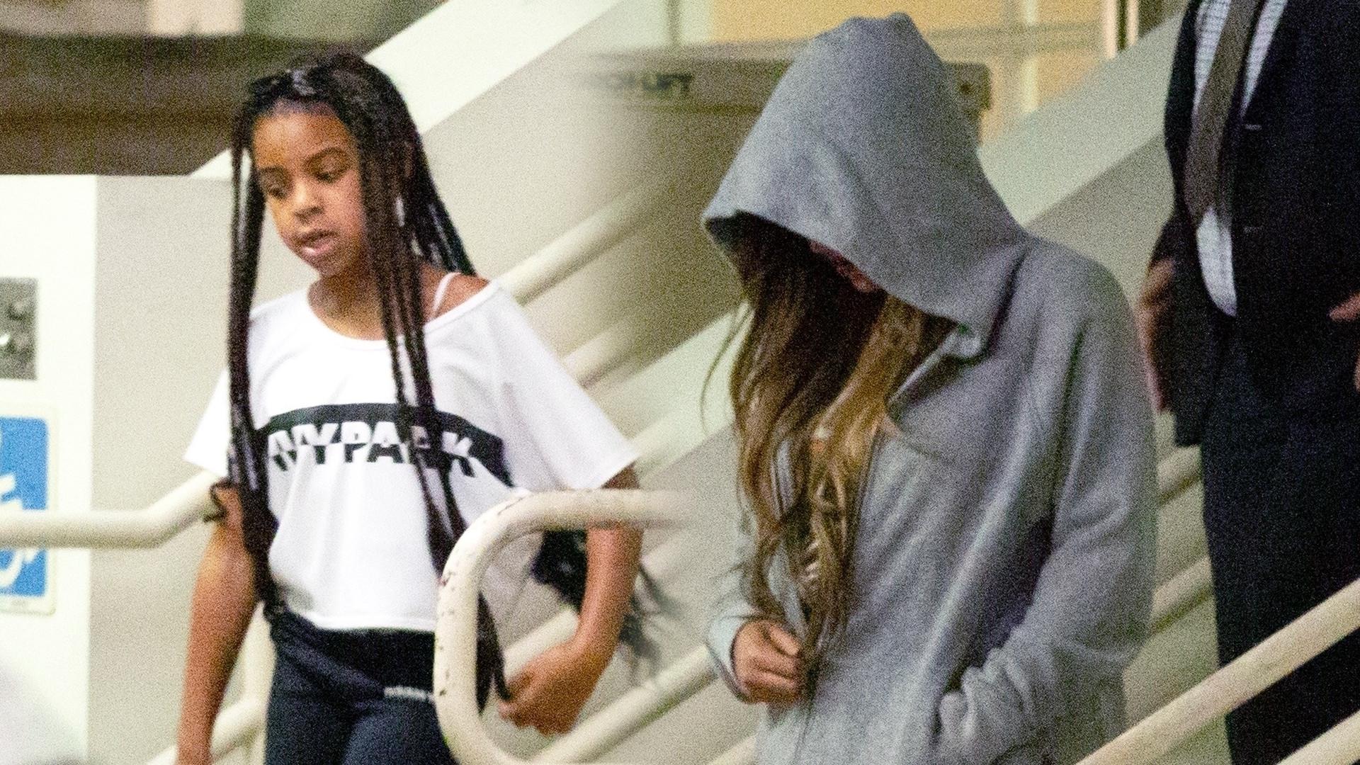 7-letnia córka Beyonce, Blue Ivy z mamą na zakupach (ZDJĘCIA)