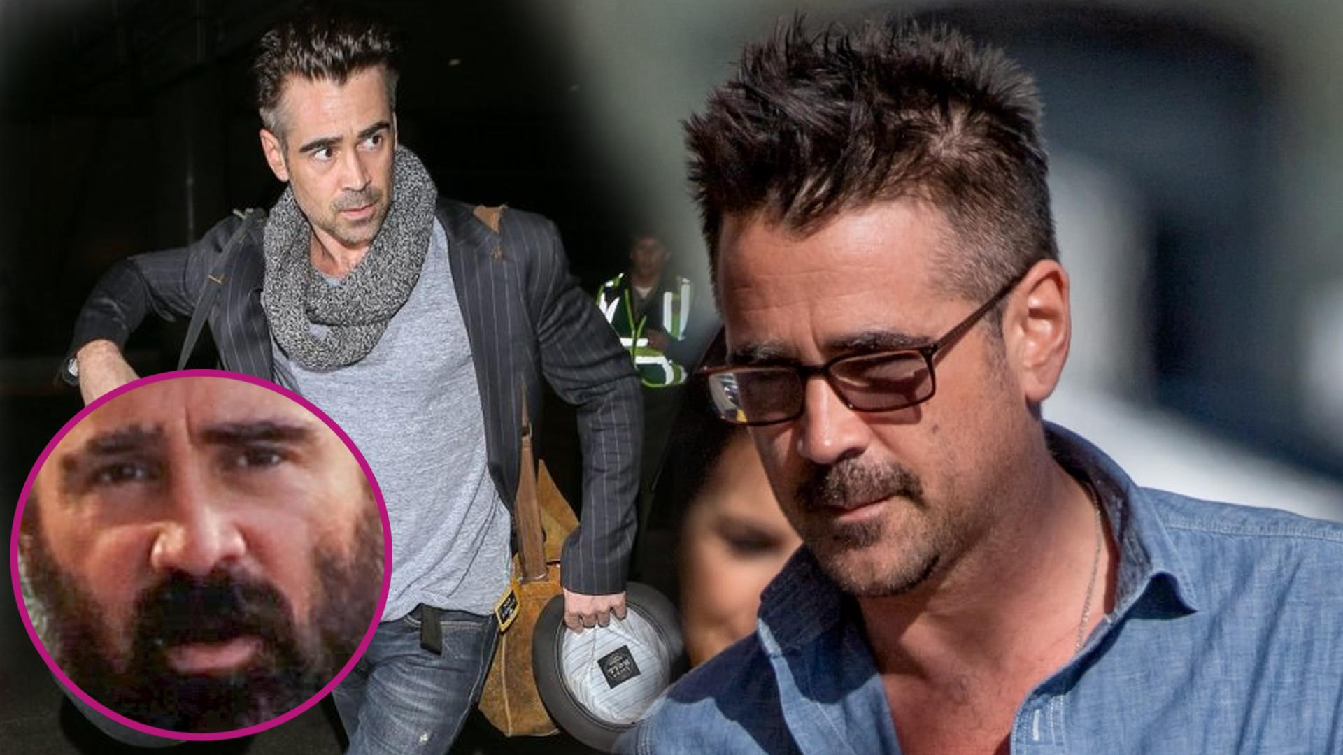 43-letni Colin Farrell PRZYTYŁ i zarósł (ZDJĘCIA)