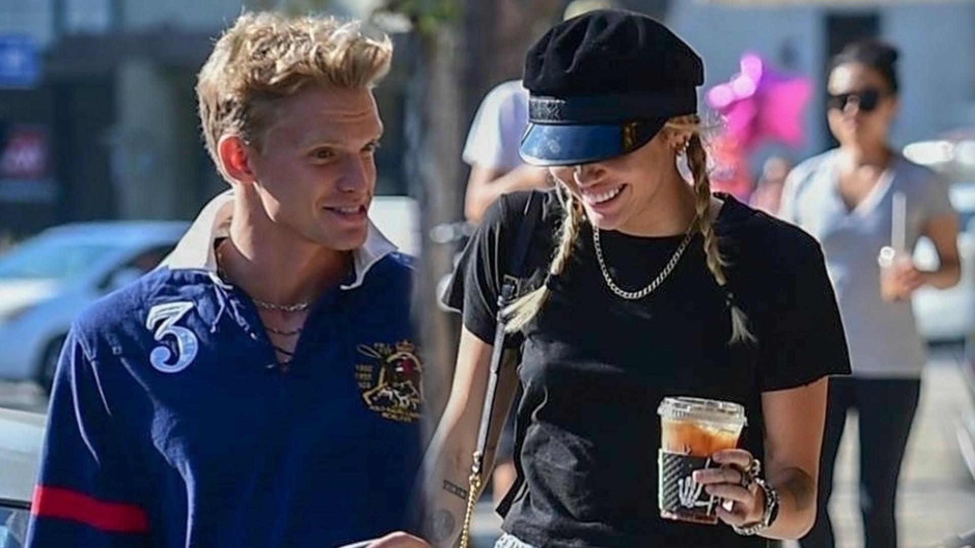Miley i Cody wyglądają na ZAWSTYDZONYCH na widok paparazzi (ZDJĘCIA)