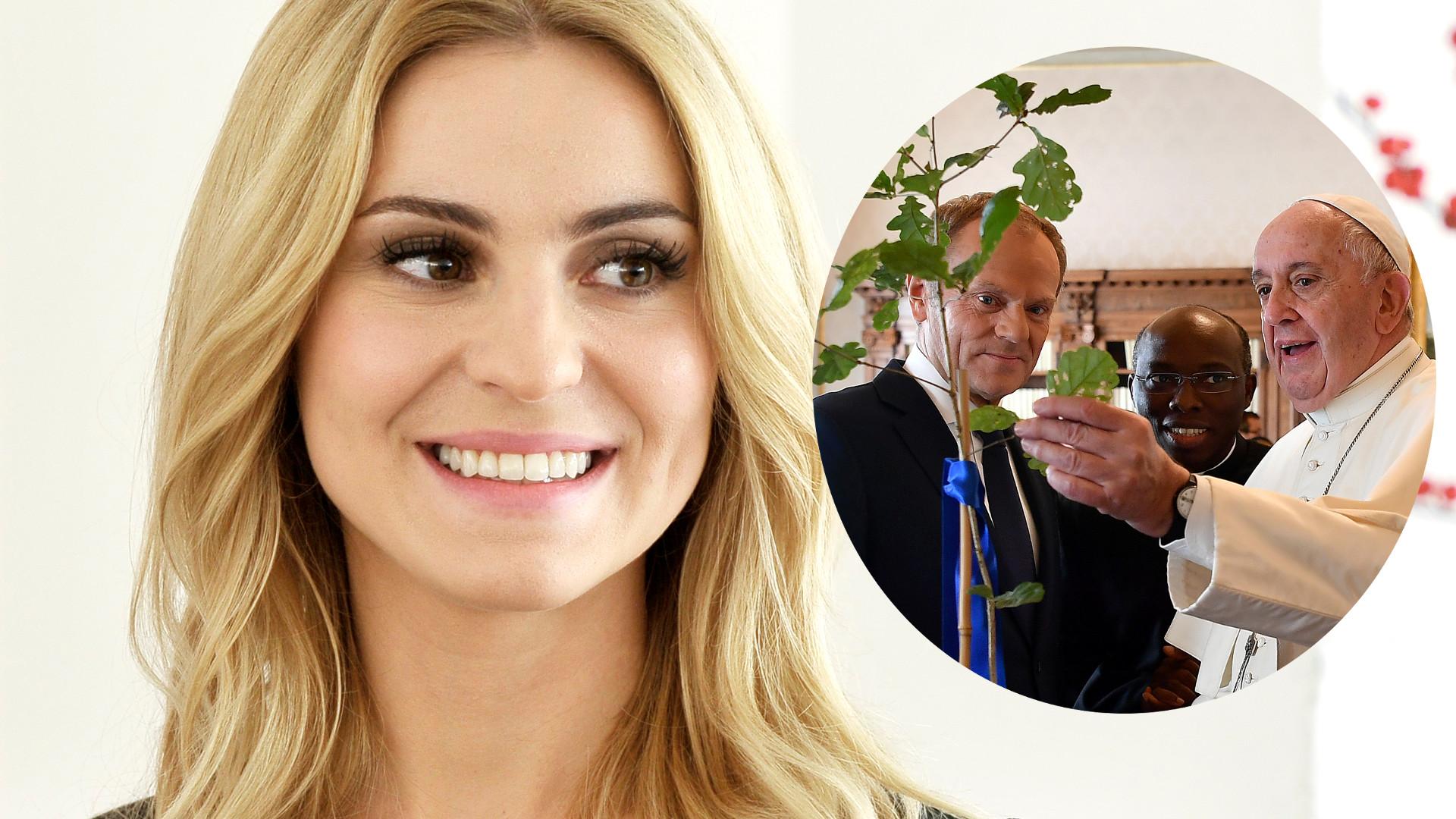 Tak wygląda córka Kasi Tusk – Donald Tusk pokazał zdjęcia rodziny z wizyty u papieża Franciszka