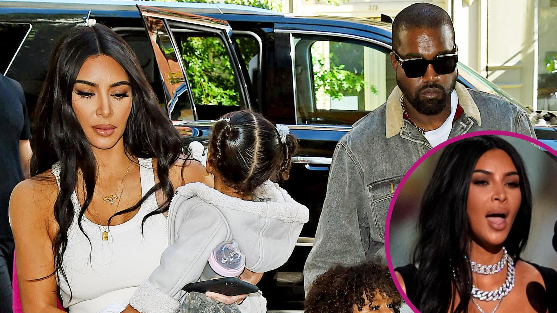 Kim i Kanye OSTRO się pokłócili o wyzywający wygląd celebrytki