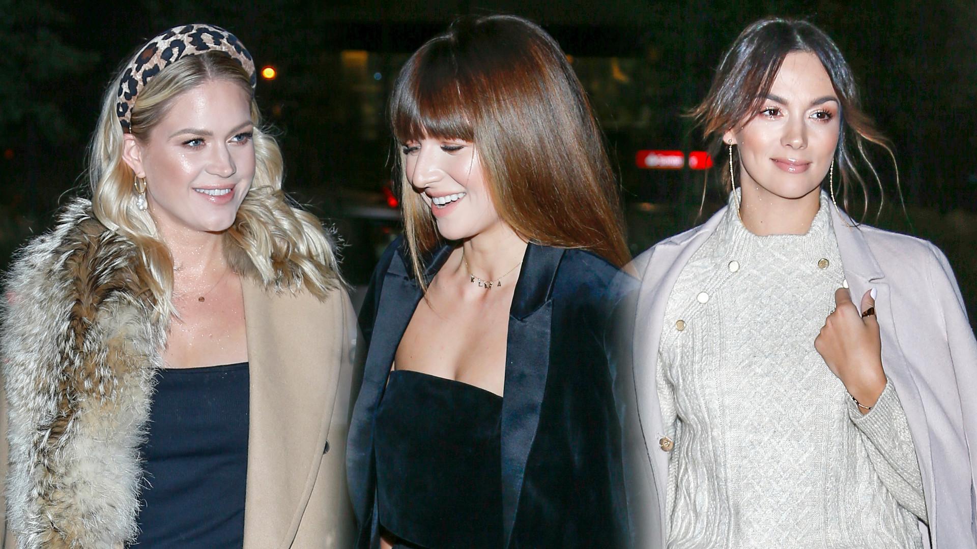 Anna Lewandowska zaprosiła przyjaciółki na kolację z okazji premiery jej nowej marki Phlov (ZDJĘCIA)