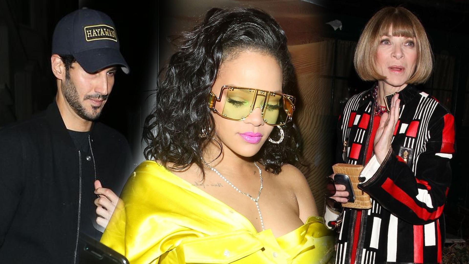 Rihanna planuje DZIECKO? Zobaczcie, jak zaregowała na pytanie Anny Wintour!