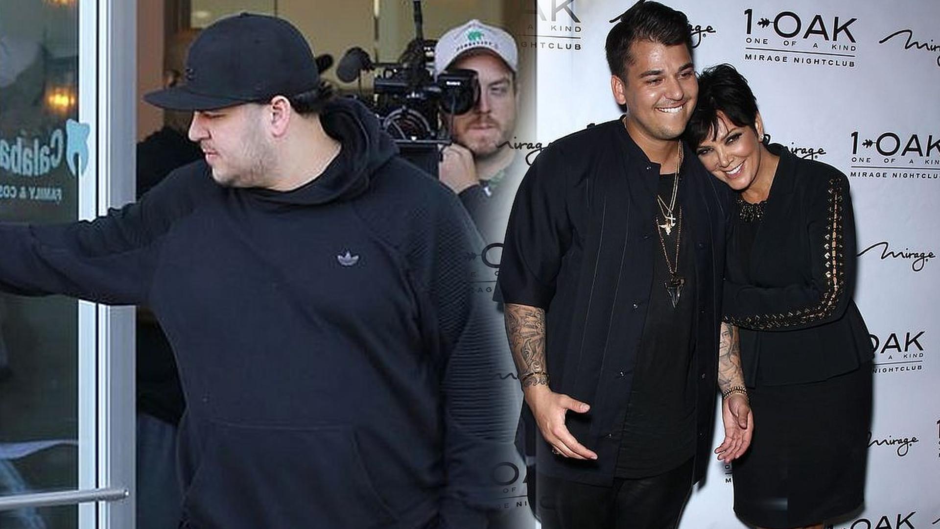 Rzadkie zdjęcie Roba Kardashiana – brat Kim wygląda, jakby bardzo schudł