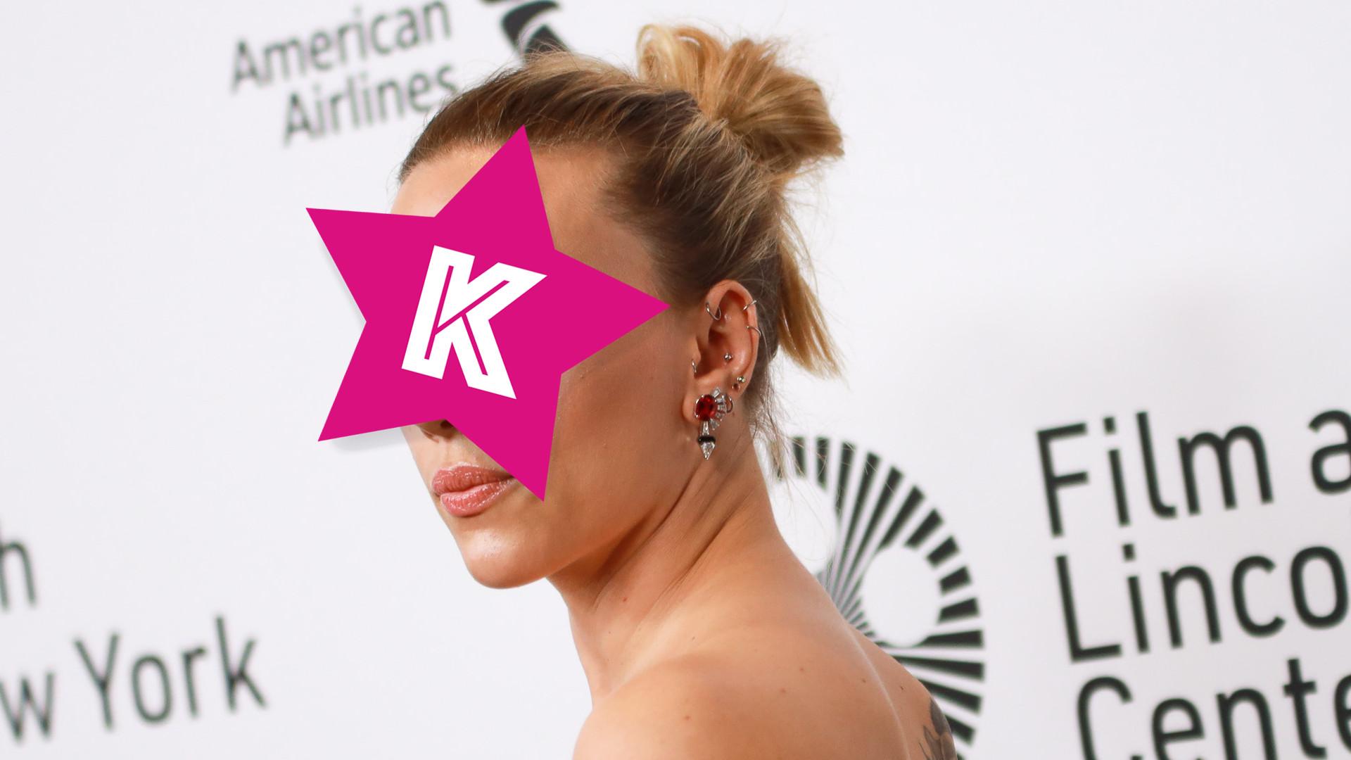 Scarlett Johansson pokazała się w nietypowym makijażu – przebiła Julię Wieniawę? (ZDJĘCIA)