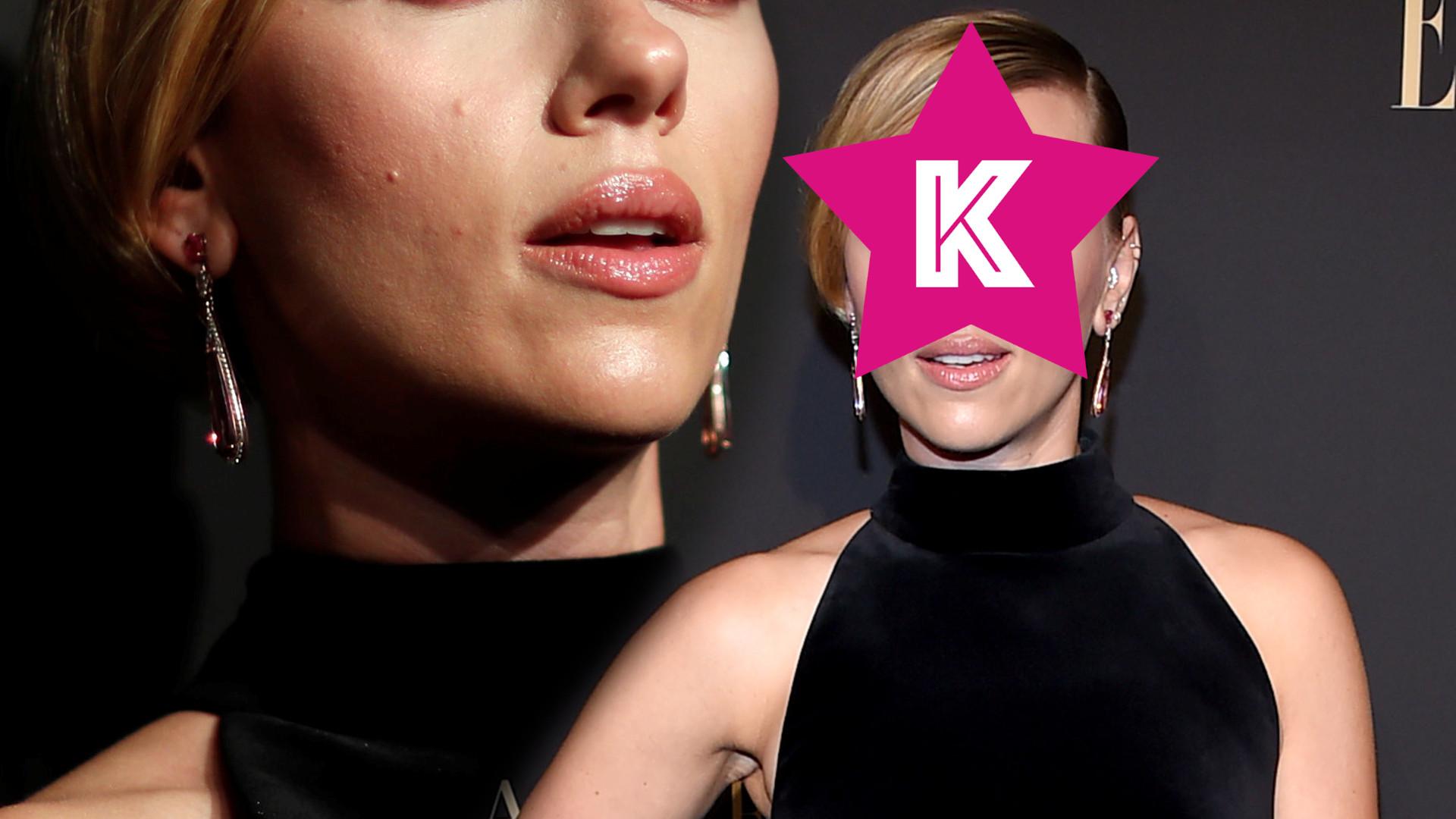 Kto tak SKRZYWDZIŁ Scarlett Johansson makijażem? (ZDJĘCIA)
