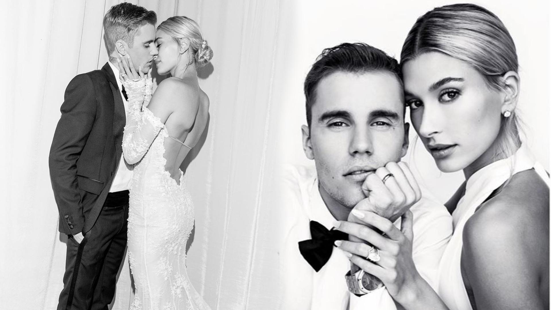 Przedstawiamy Państwa Bieber! Hailey podzieliła się oficjalnymi zdjęciami ze ślubu. Jej suknia – WOW!