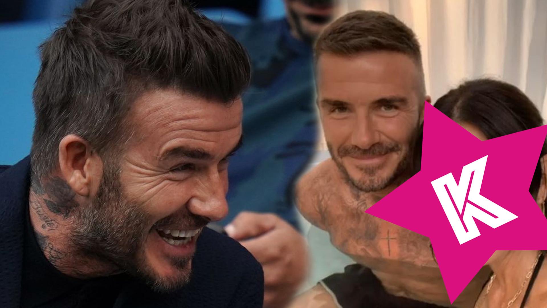 David Beckham ZDRADZA Victorię? Piłkarz siedzi w jacuzzi z TĄ aktorką!