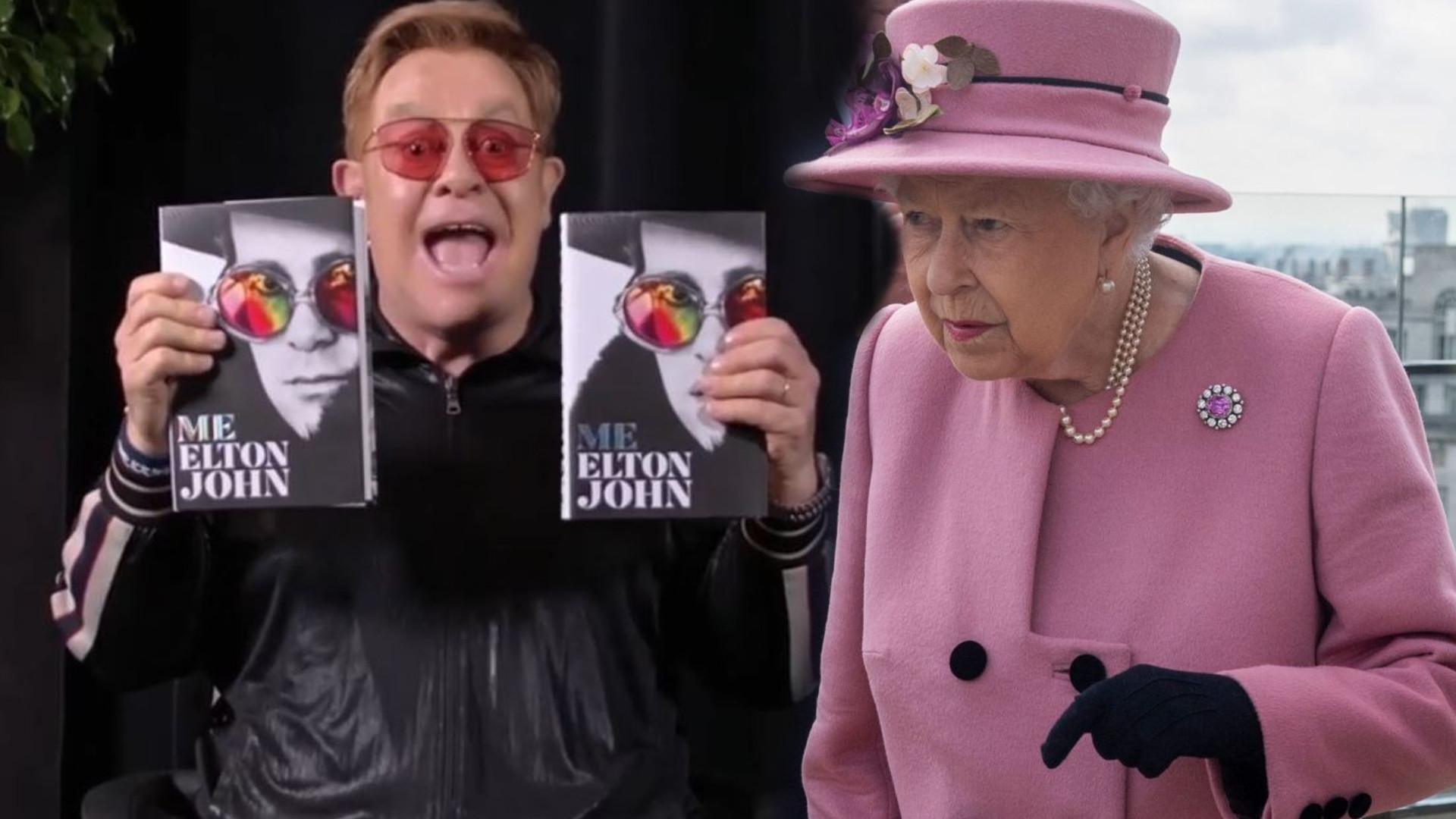 Jak królowa mogła zrobić coś takiego? Wyznanie Eltona Johna pokazuje, do czego zdolna jest Elżbieta