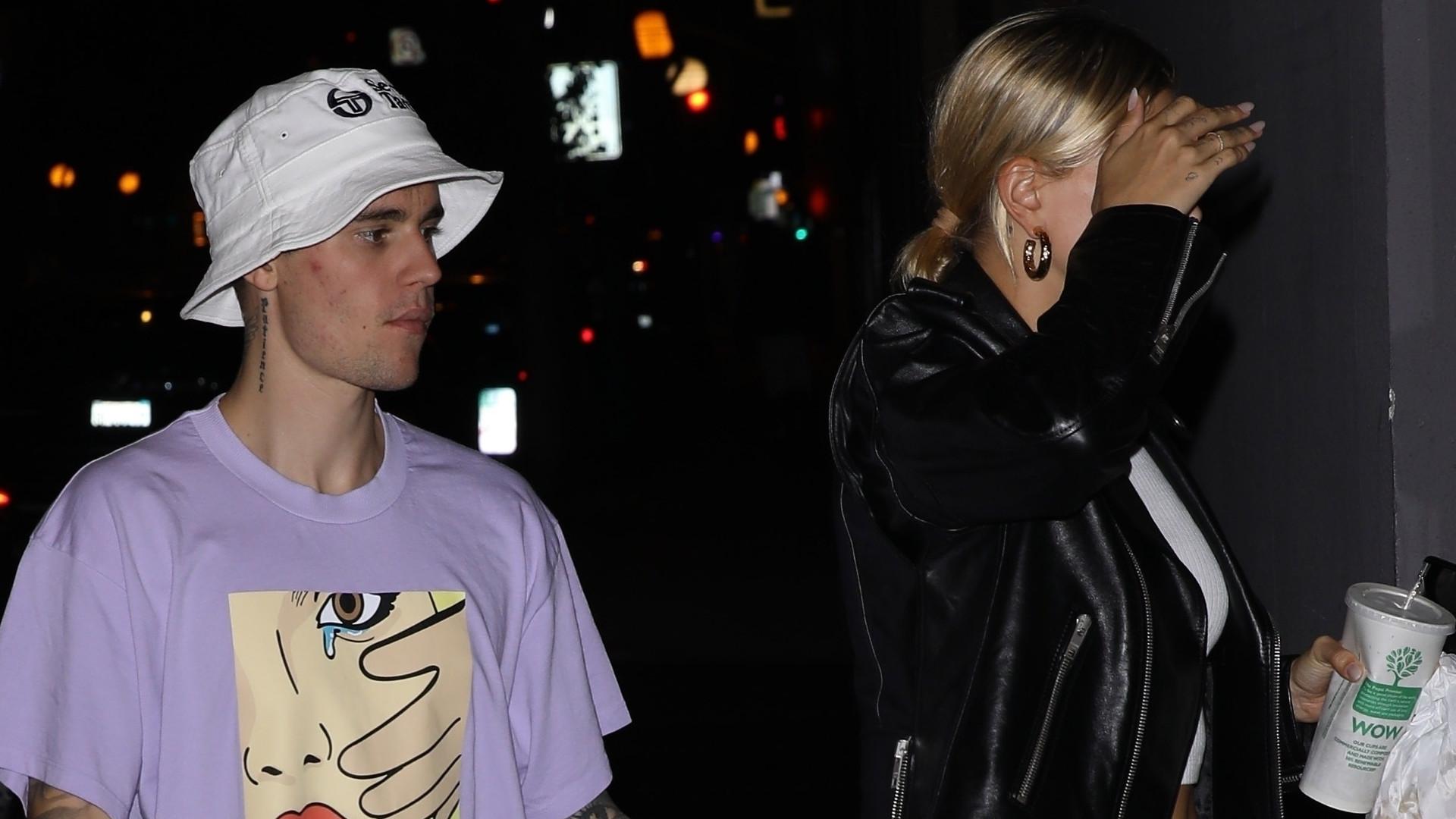 Justin Bieber i Hailey na pierwszej randce po ślubie – muzyk wykonał wobec żony niestosowny GEST (ZDJĘCIA)
