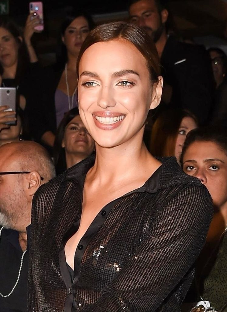 Irina Shayk na pokazie mody