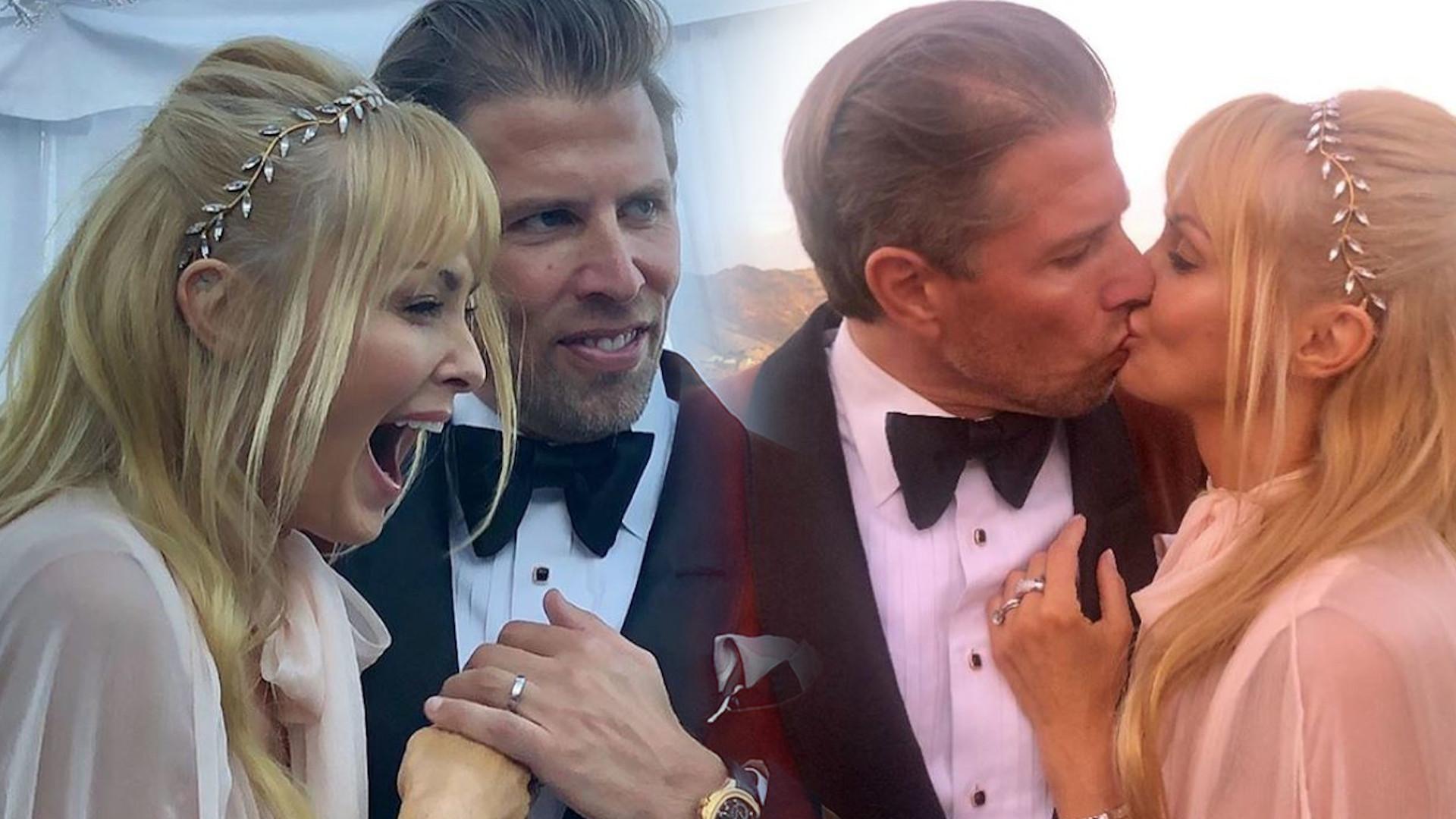 Izabella Scorupco wyszła za mąż po raz trzeci! W sukni ślubnej wyglądała ZJAWISKOWO