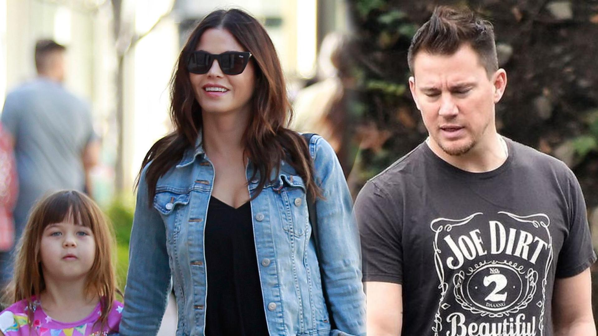 Jenna Dewan ujawnia, że nie może dogadać się z Channingiem Tatumem w sprawie opieki nad córką