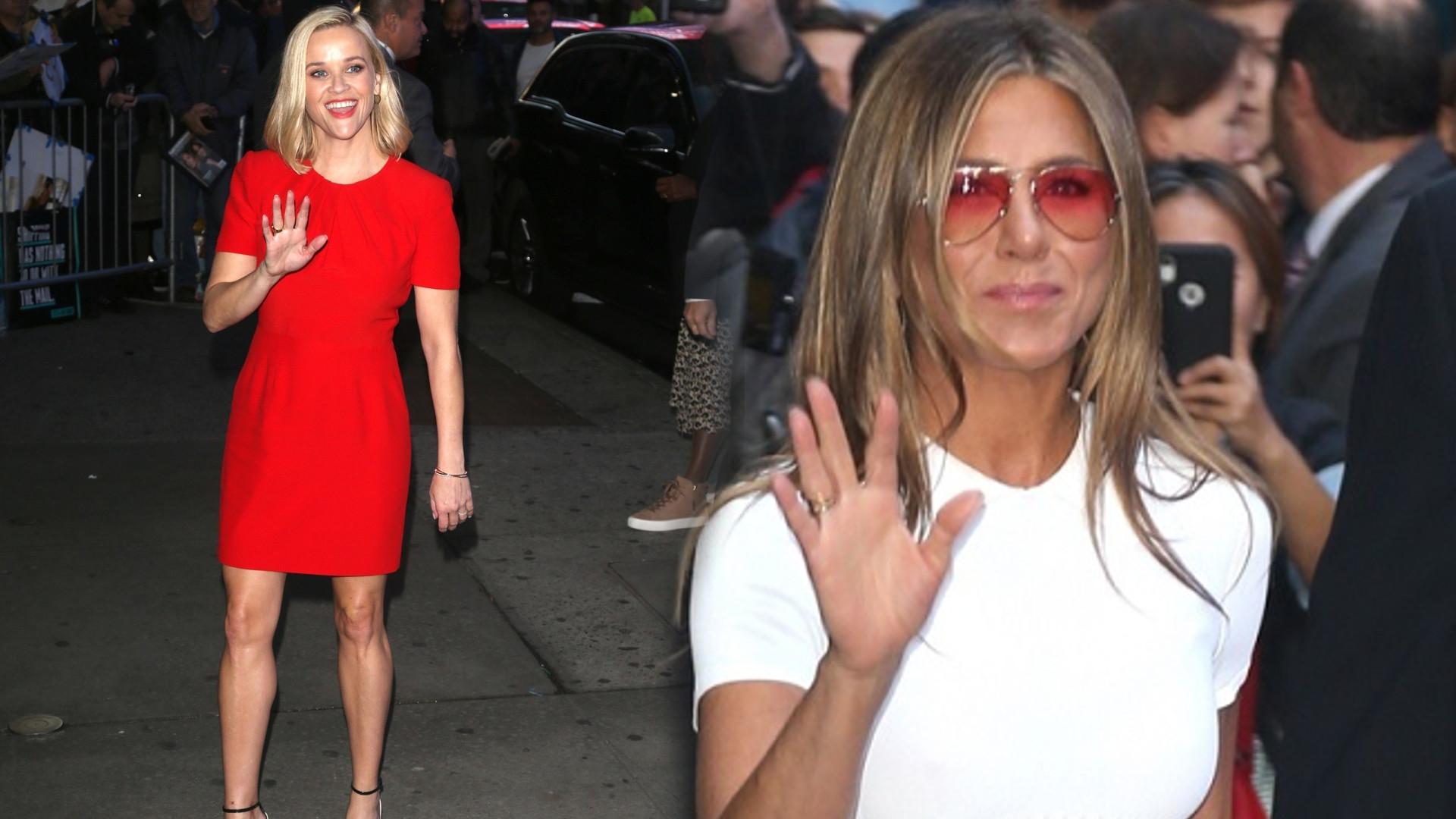 Jennifer Aniston wygląda jak siostra Reese Witherspoon a dzieli je spora różnica wieku (FOTO)