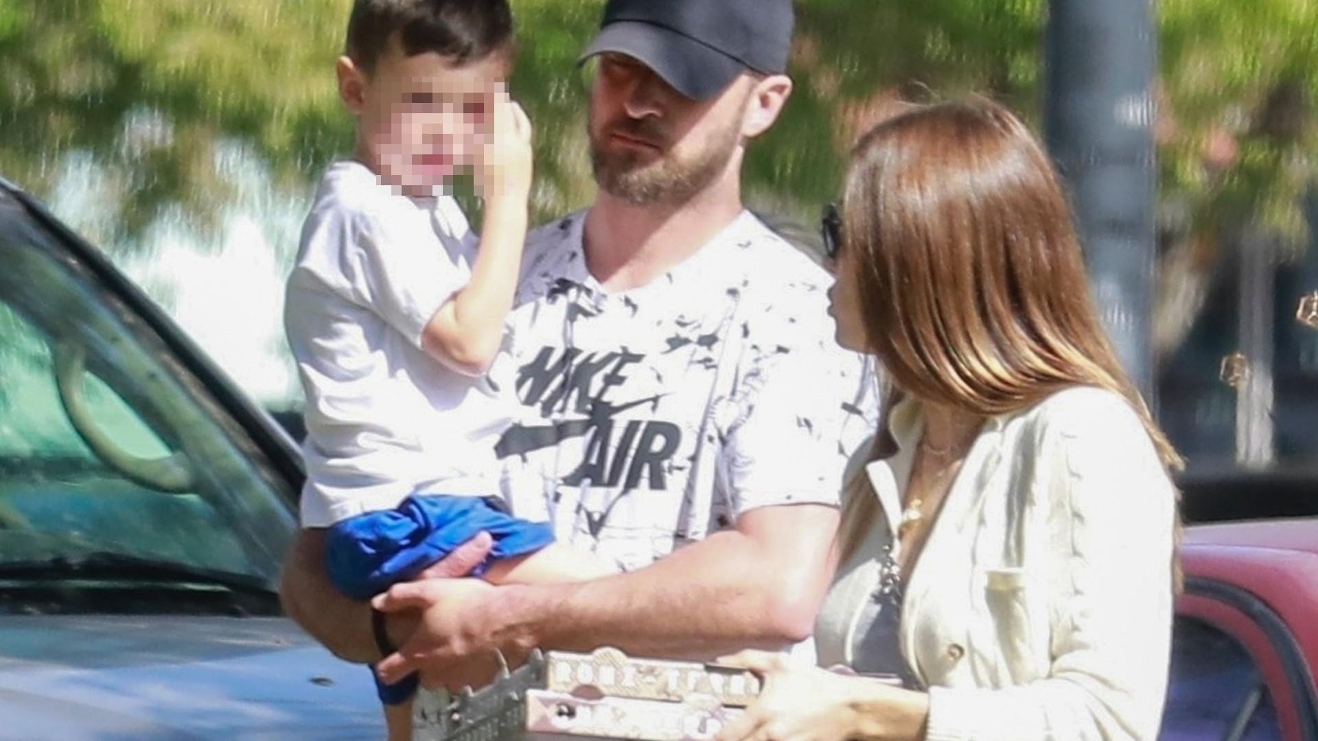 Fajny tata! Justin Timberlake zajmuje się synem (ZDJĘCIA)