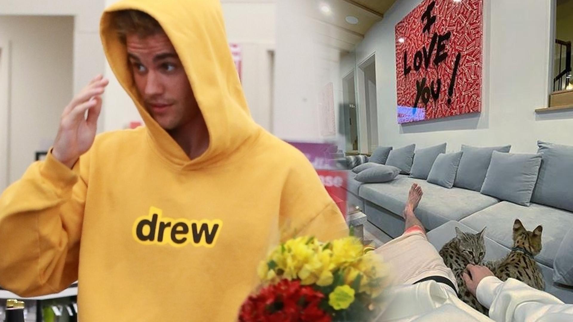 WOW! Justin Bieber pokazał wnętrza swojego DOMU na Instagramie