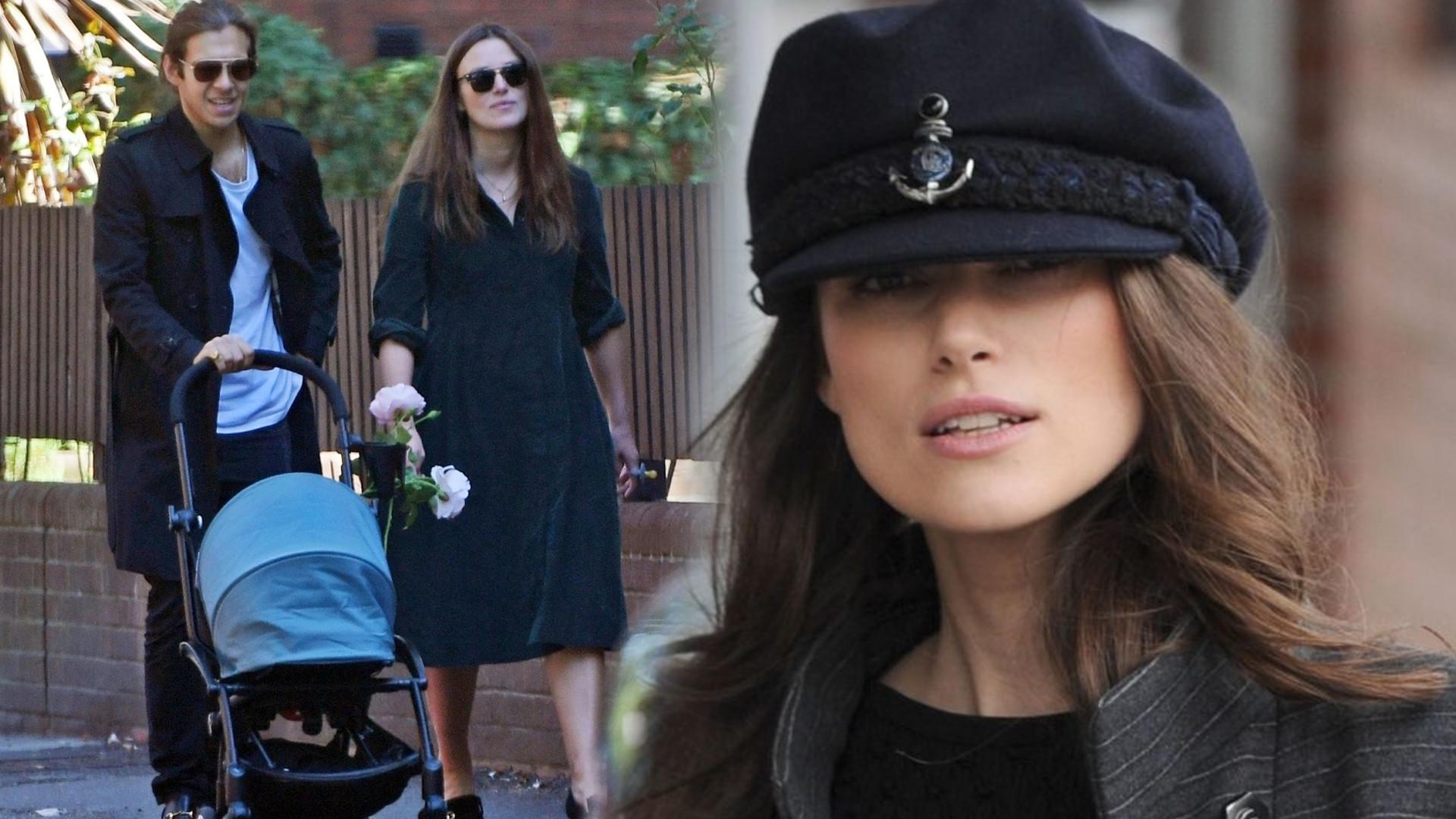 Keira Knightley zdradziła jakie imię wybrała dla drugiego dziecka i opowiedziała o karmieniu piersią