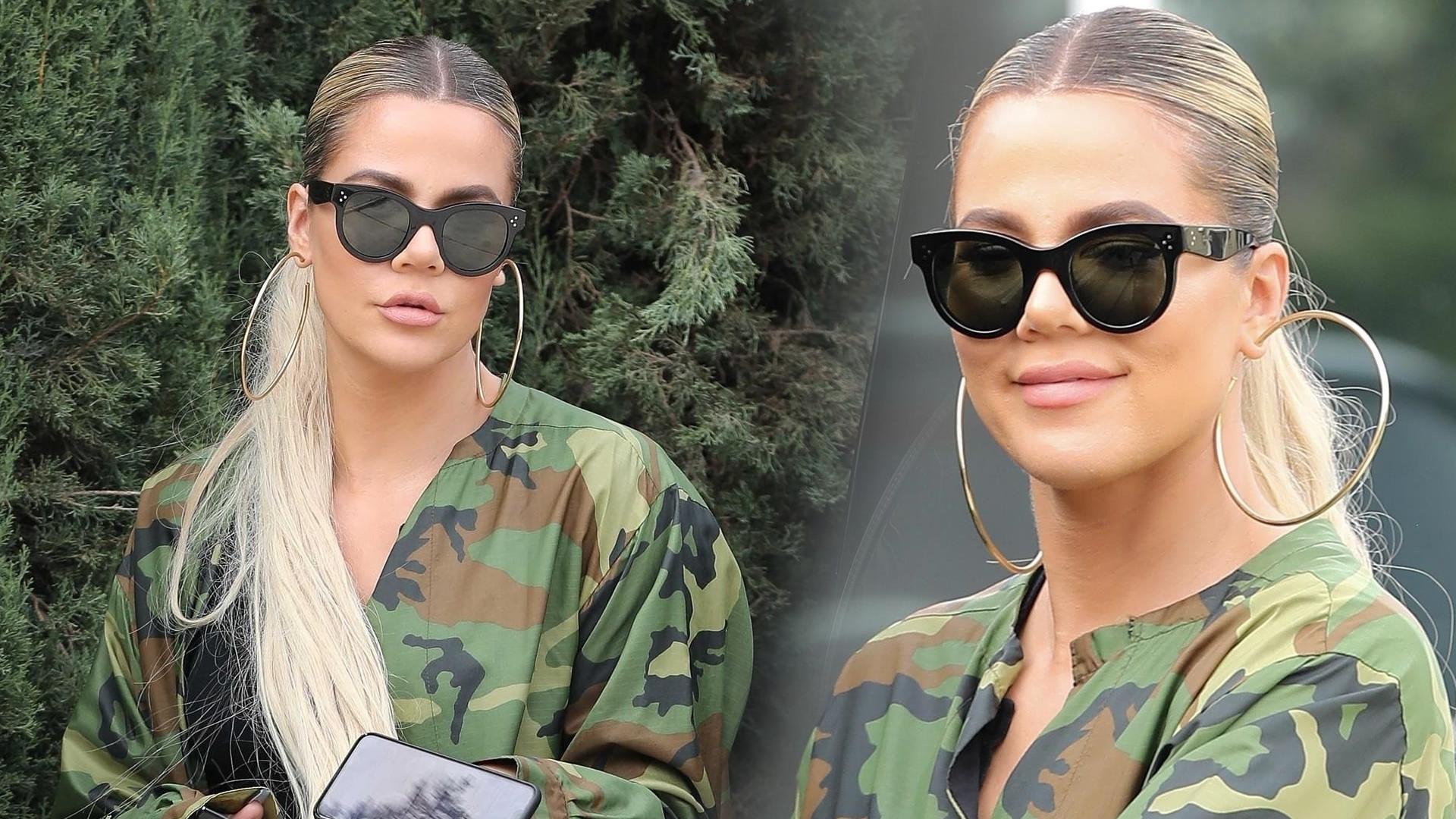 Khloe Kardashian odwiedza ciężarną przyjaciółkę – zobaczcie, co jej przyniosła (ZDJĘCIA)