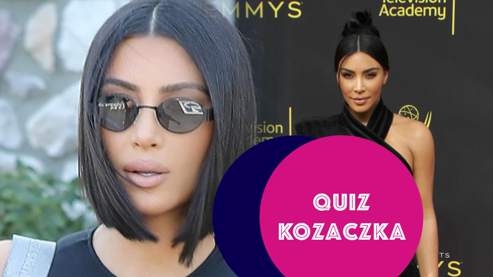 Bez czego Kim Kardashian nie wsiądzie do samolotu? W jakim serialu zagrała? Sprawdź, czy wiesz! (QUIZ)