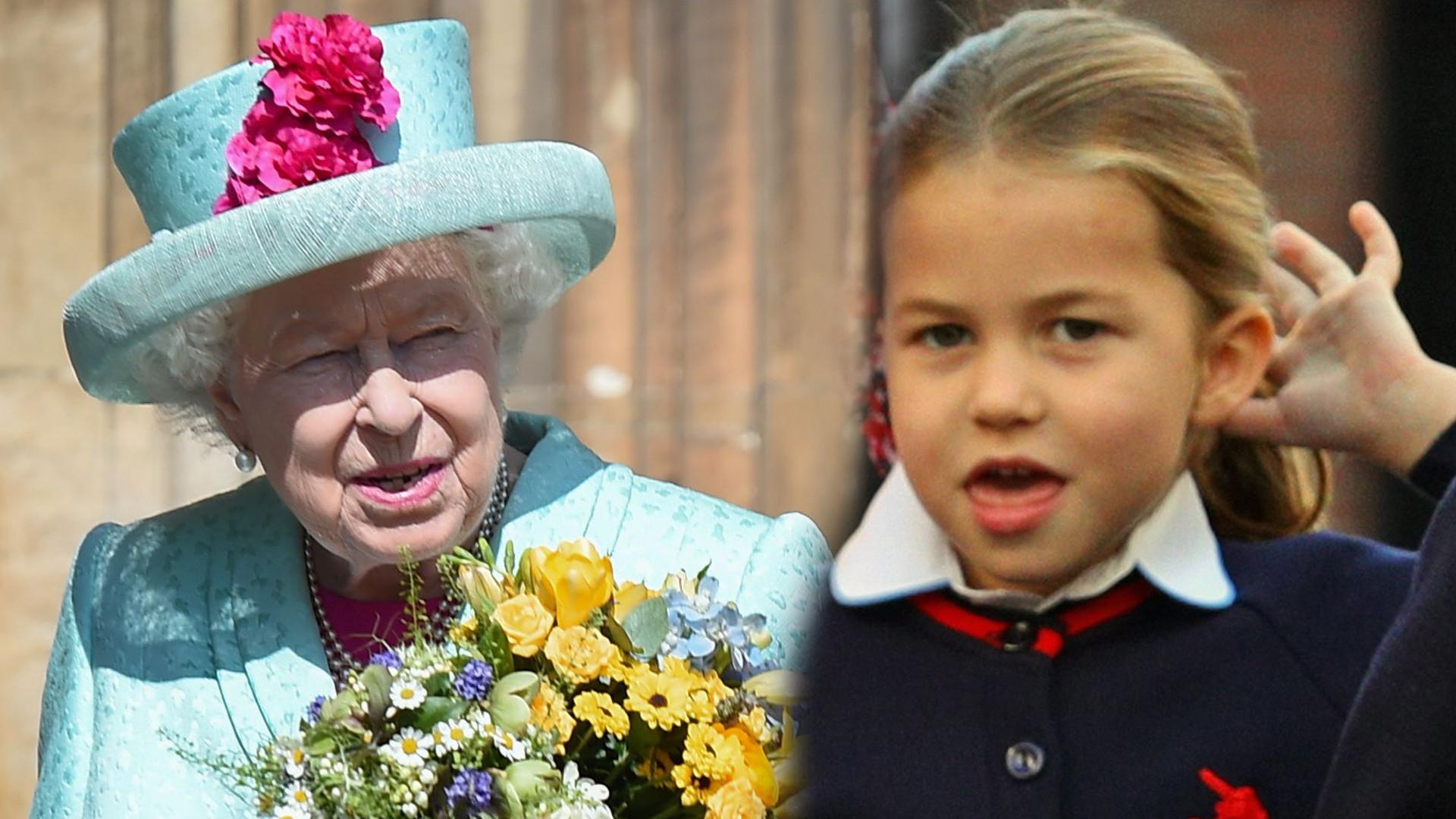 Wyszły na jaw zdjęcia królowej Elżbiety i księcia Karola, gdy byli młodzi. Księżniczka Charlotte jest tak podobna do prababci!