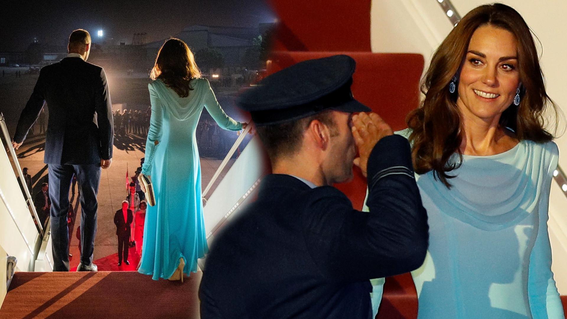 ALEŻ ona jest SZCZUPŁA!! Kate Middleton w Pakistanie (ZDJĘCIA)