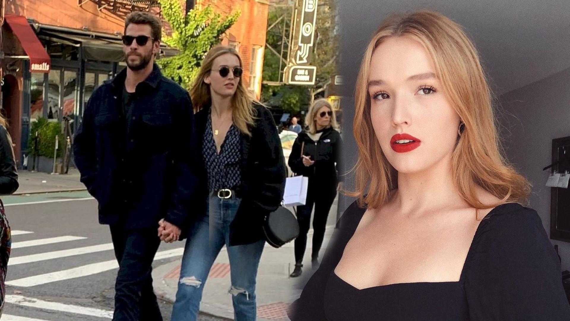 Kim jest nowa DZIEWCZYNA Liama Hemswortha ? Aktorka zastąpi mu Miley Cyrus?