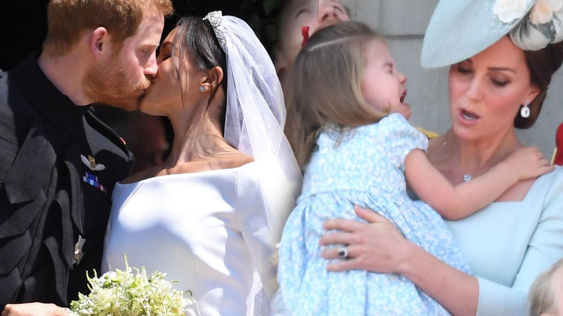 Bukiet ślubny Meghan Markle mógł stanowić poważne ZAGROŻENIE dla księżniczki Charlotte?