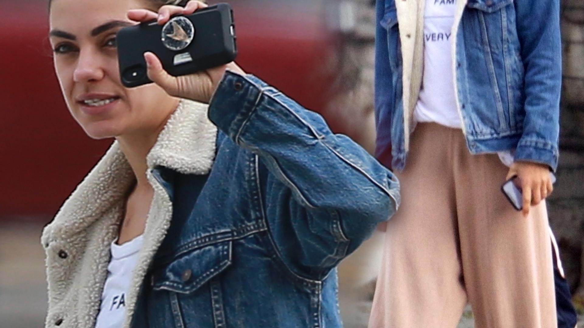 Mila Kunis wygląda FATALNIE – nowy kolor włosów i wyciągnięte dresy nie dodają jej urody (ZDJĘCIA)