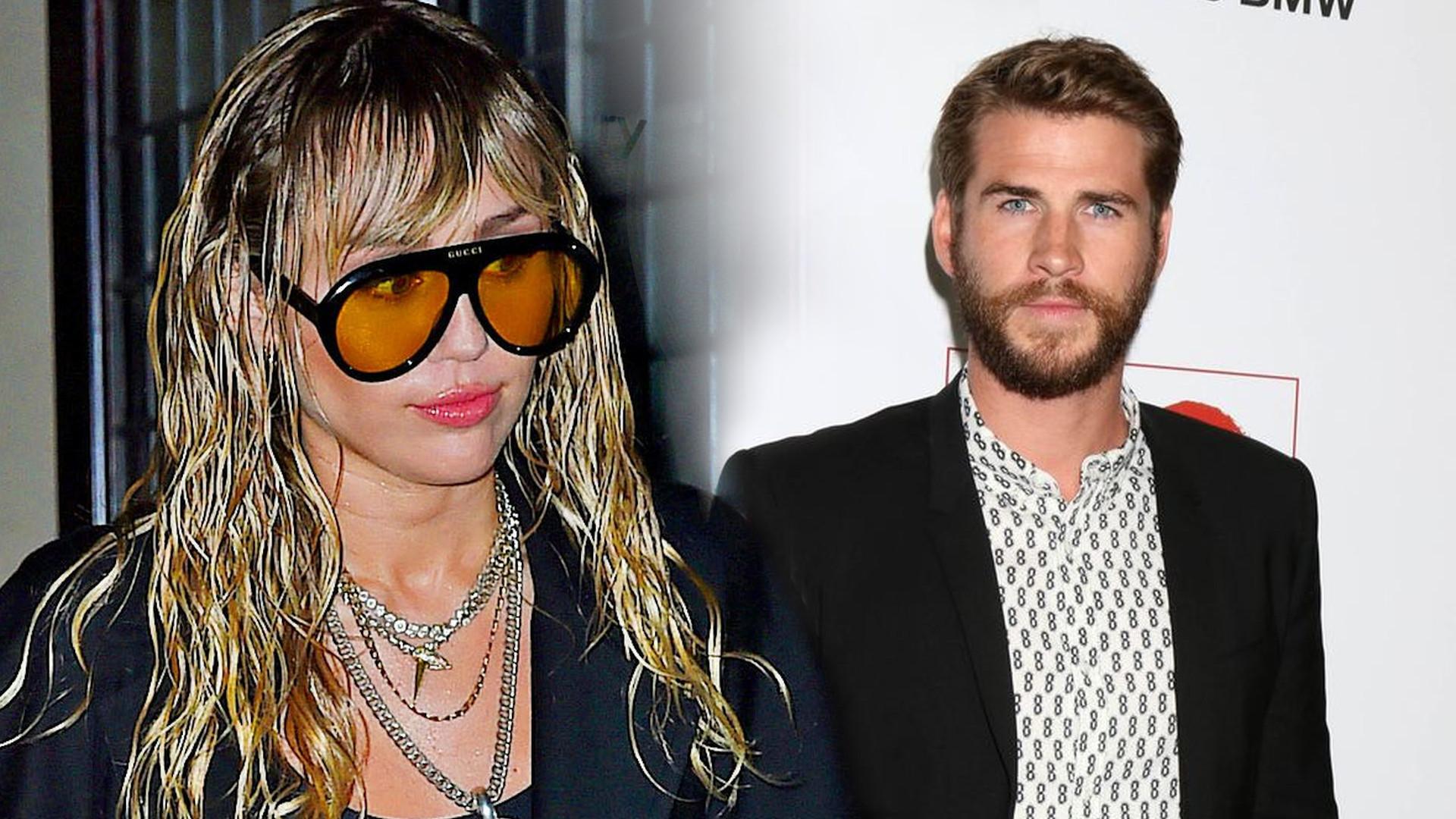 Dlaczego Liam Hemsworth tak naprawdę rozstał się z Miley Cyrus? Nie może patrzeć na to, co się z nią dzieje