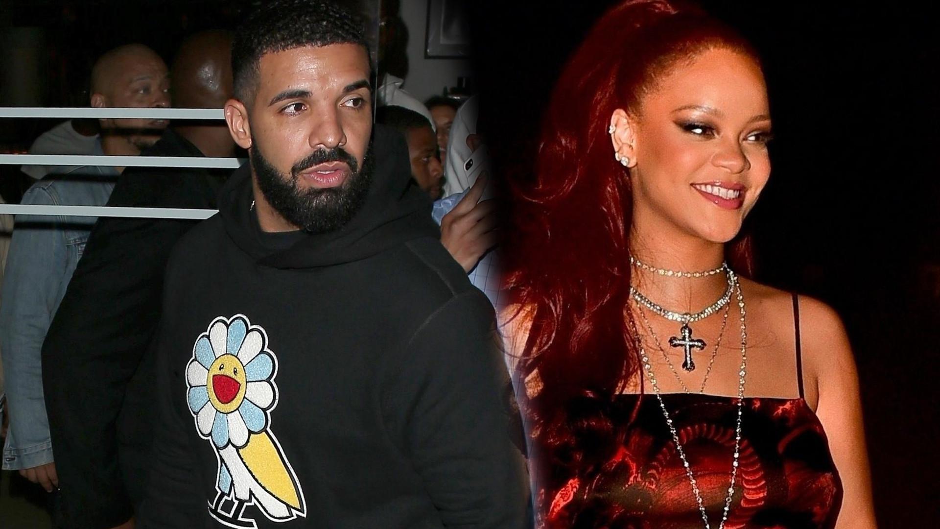 Rihanna pojawiła się na przyjęciu urodzinowym Drake'a. Czy to będzie kolejny, WIELKI powrót?