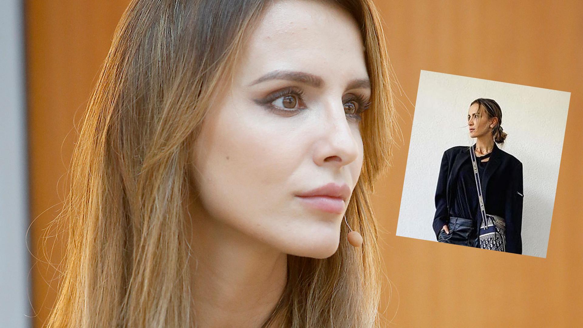 Sara Boruc w nietypowych SZORTACH: może te portki oddaj dla Artura (LOOK TYGODNIA)
