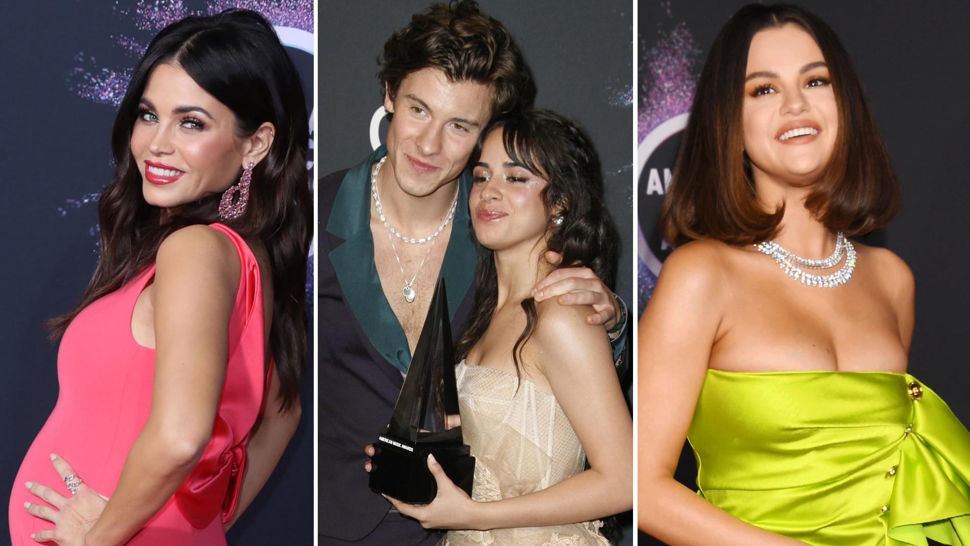 WOW! Dekolt Seleny Gomez, posągowa Taylor Swift i kobieca Camila Cabello na American Music Awards (ZDJĘCIA)
