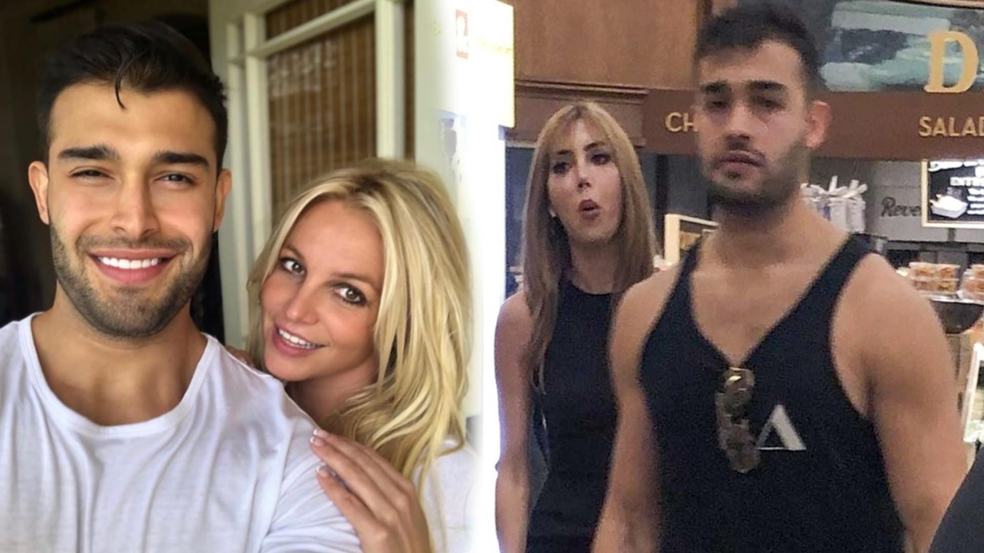 Chłopak Britney Spears przyłapany z inną kobietą. Mamy zdjęcia! Wiemy kim jest