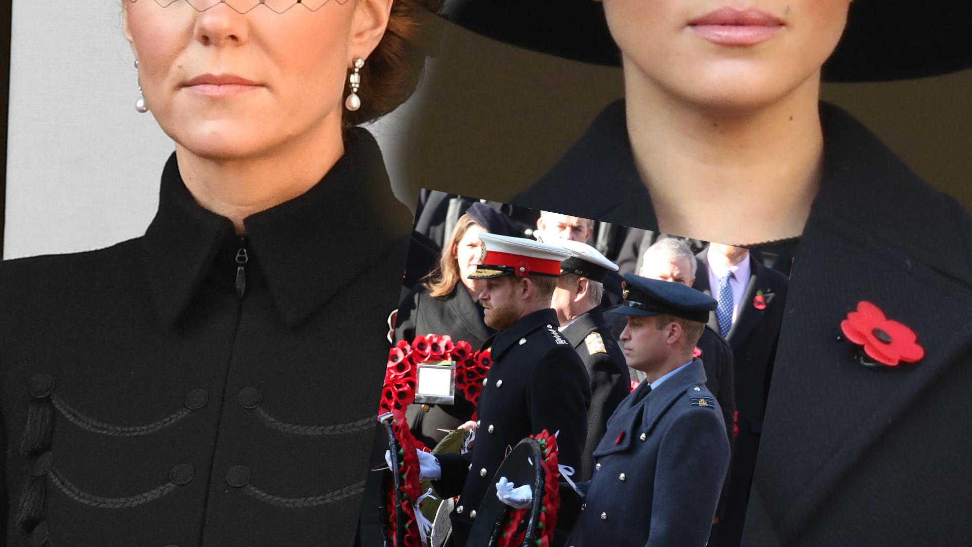Meghan i Kate znowu razem wystąpiły – jedna w kapeluszu, druga w toczku. Której udała się stylizacja?