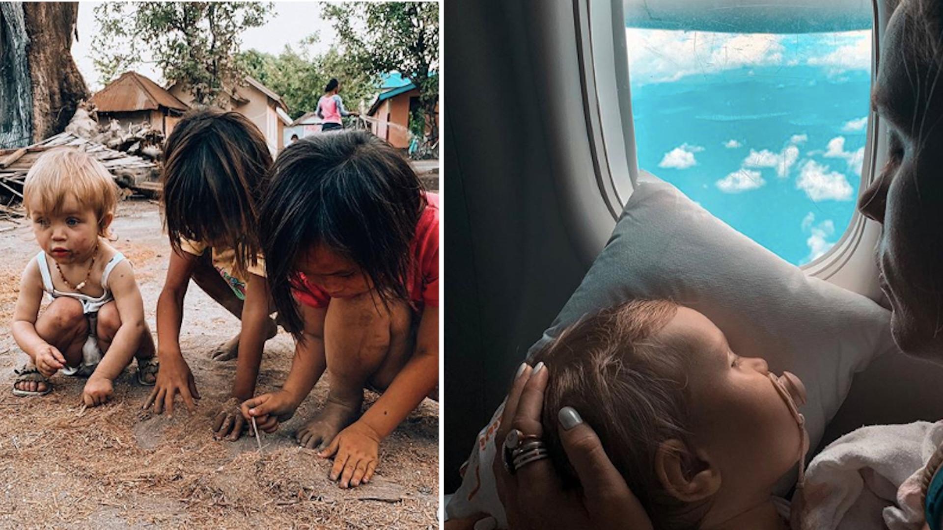 Anna Skura z ROCZNĄ córką na Bali. Internautki zauroczone jej zdjęciami: Idzie cukrzycy dostać