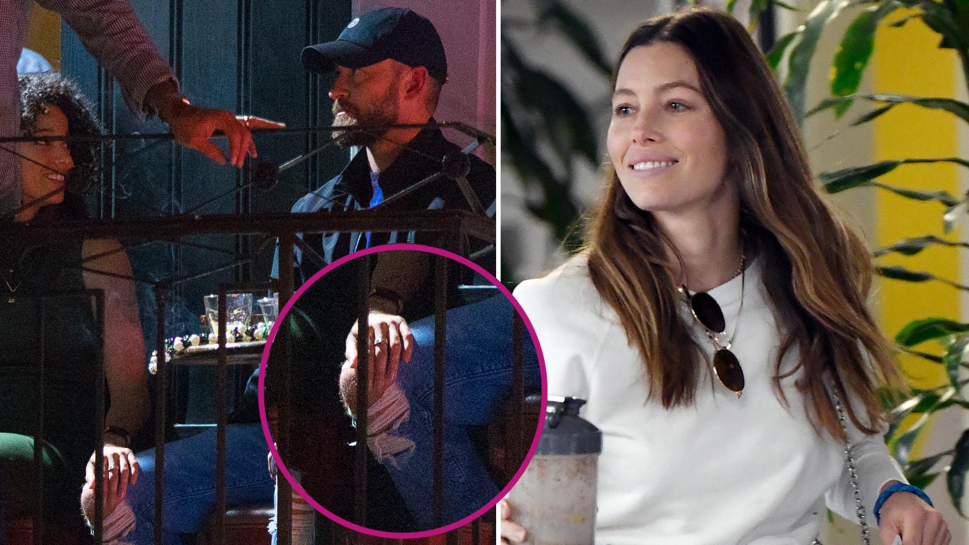 Pierwsze ZDJĘCIA Jessiki Biel po tym, jak jej mąż, Justin Timberlake, imprezował z koleżanką z planu