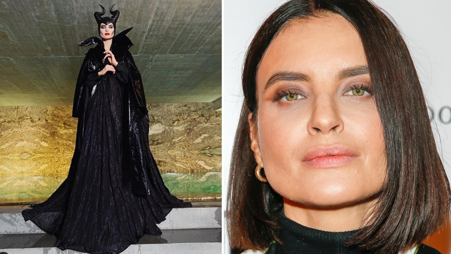 Joanna Horodyńska POZAMIATAŁA swoją halloweenową stylizacją – tak jak Rozenek-Majdan przebrała się za Czarownicę